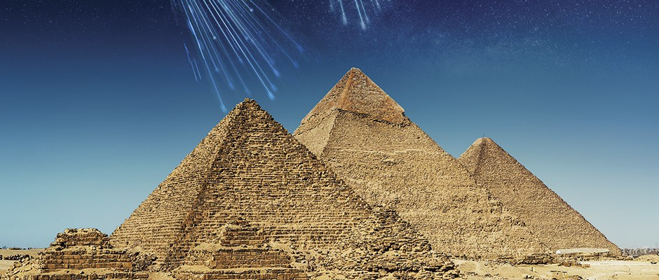 How scientists are using cosmic radiation to peek inside the pyramids