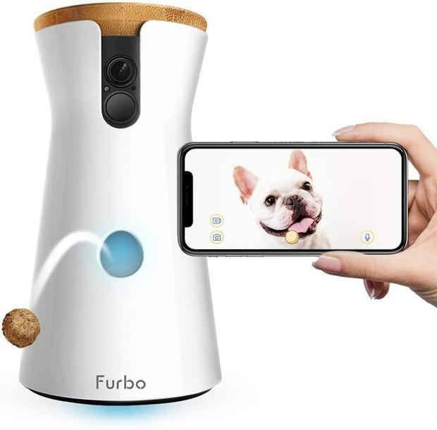 Furbo Dog Camera on white background