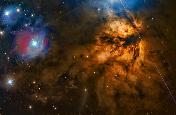NGC 2024 – Flame Nebula © Steven Mohr