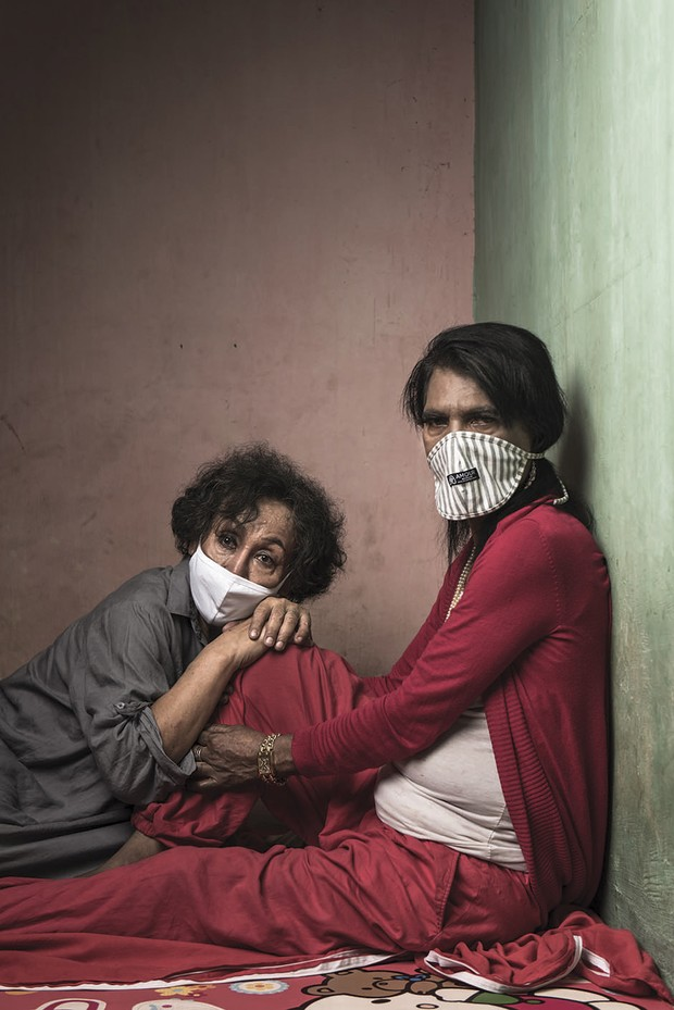 The photo series Trans Woman: Between Colour and Voice shows the many obstacles which trans women face in Indonesia © Yoppy Pieter /Wellcome Photography Prize 2021