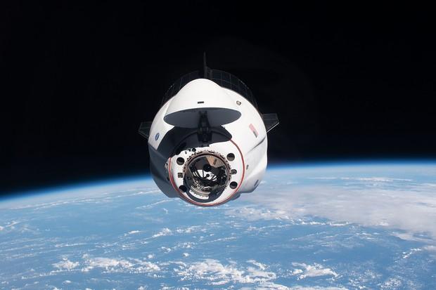 Vaisseau spatial Crew Dragon Endeavour © NASA/Jonhson