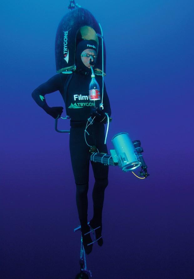 Top 10: Deepest freediving world records - Herbert Nitsch © Alamy