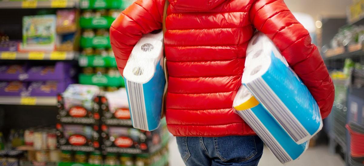 COVID-19 panic buying was natural human response, new study shows