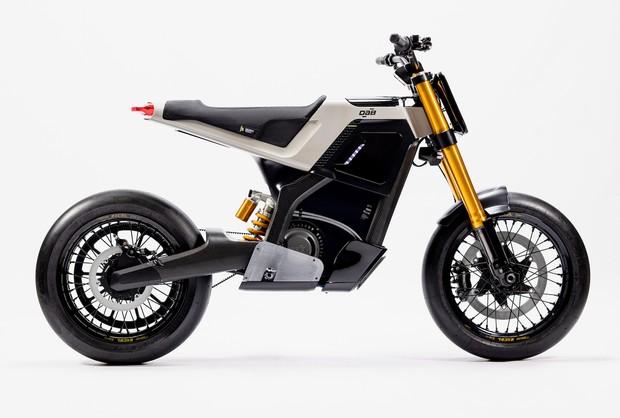 DAB Motors Concept-E on white background