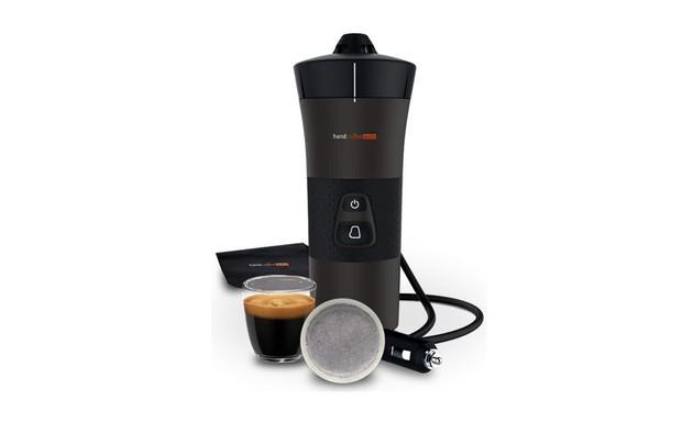 Handpresso Handcoffee on white background