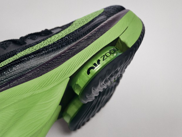 Close-up of the sole of the Nike Alphafly © Nike