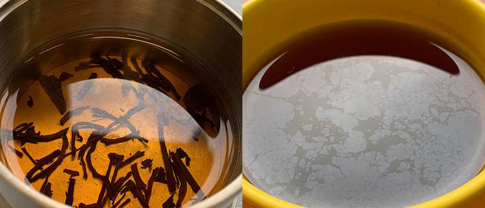Put down the filter: Tea made with impure water tastes better