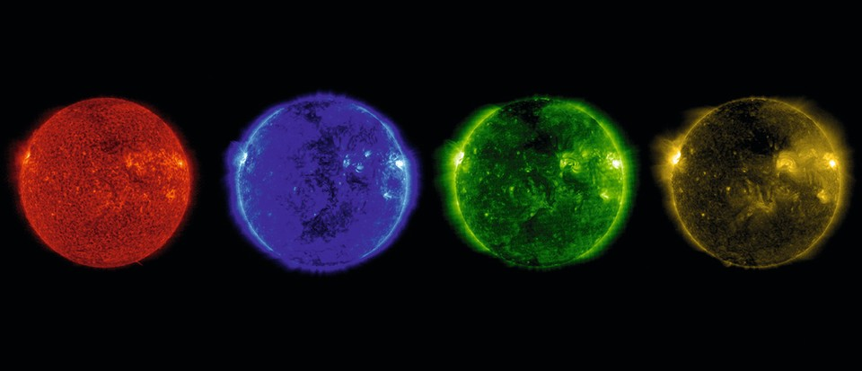 What colour is the Sun really? Hint: it's not yellow
