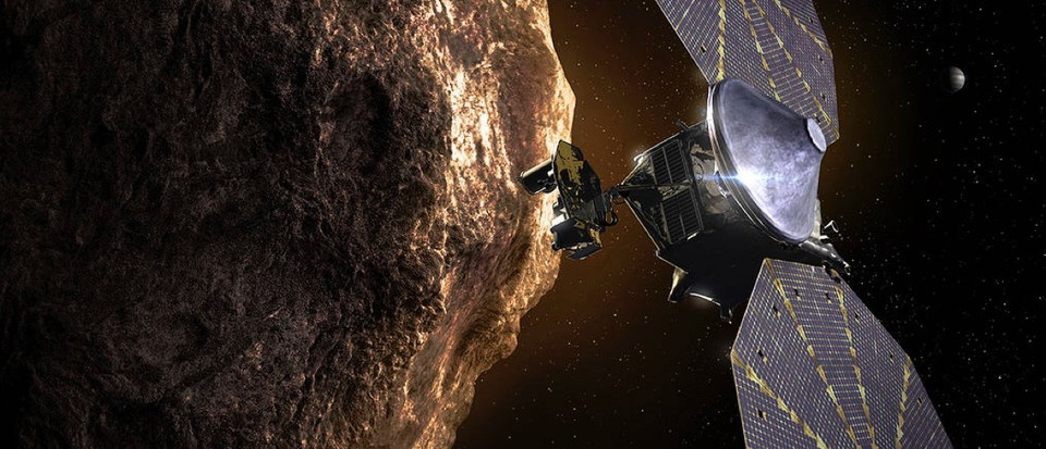 NASA's Lucy Mission is set to head to Jupiter's Trojan asteroids