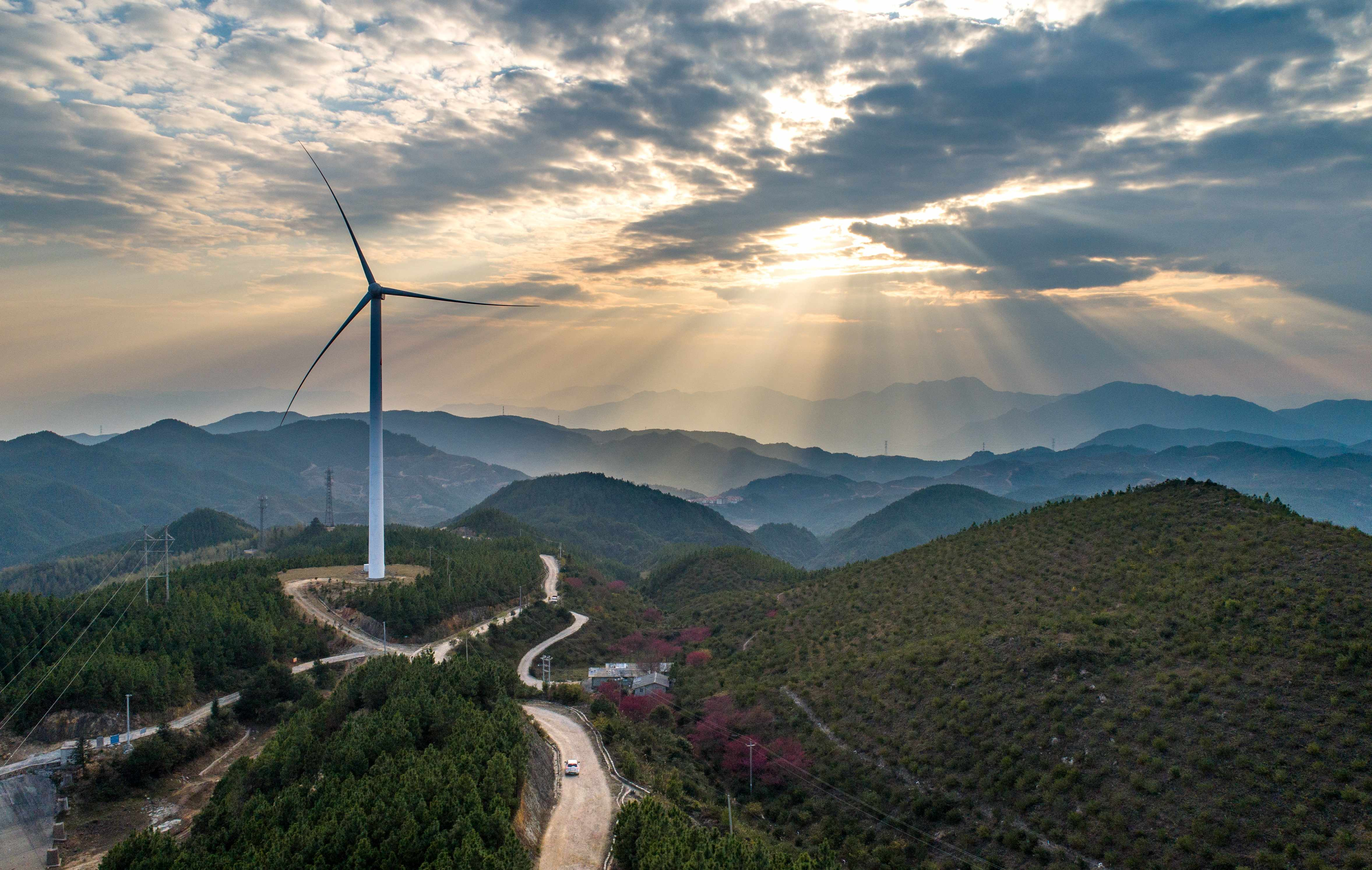 Wind power generation in the clouds