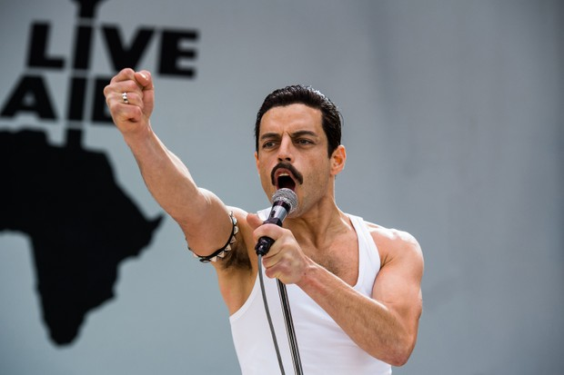 Rami Malek stars as Freddie Mercury in 'Bohemian Rhapsody'. (Photo Credit: Alex Bailey © 2018 Twentieth Century Fox Film Corporation)