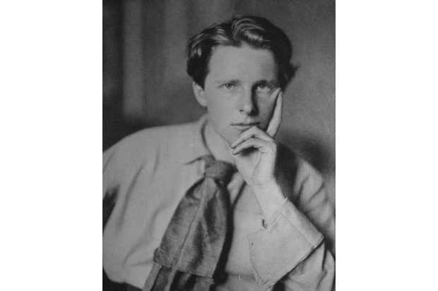 A portrait of British war poet Rupert Brooke, who is known for his idealistic sonnets written during the First World War. (Time Life Pictures/Mansell/The LIFE Picture Collection/Getty Images)