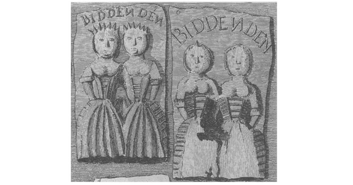 Biddenden Maids Cake. (Public Domain)