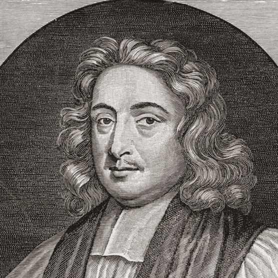 A portrait of 17th-century scholar John Wilkins