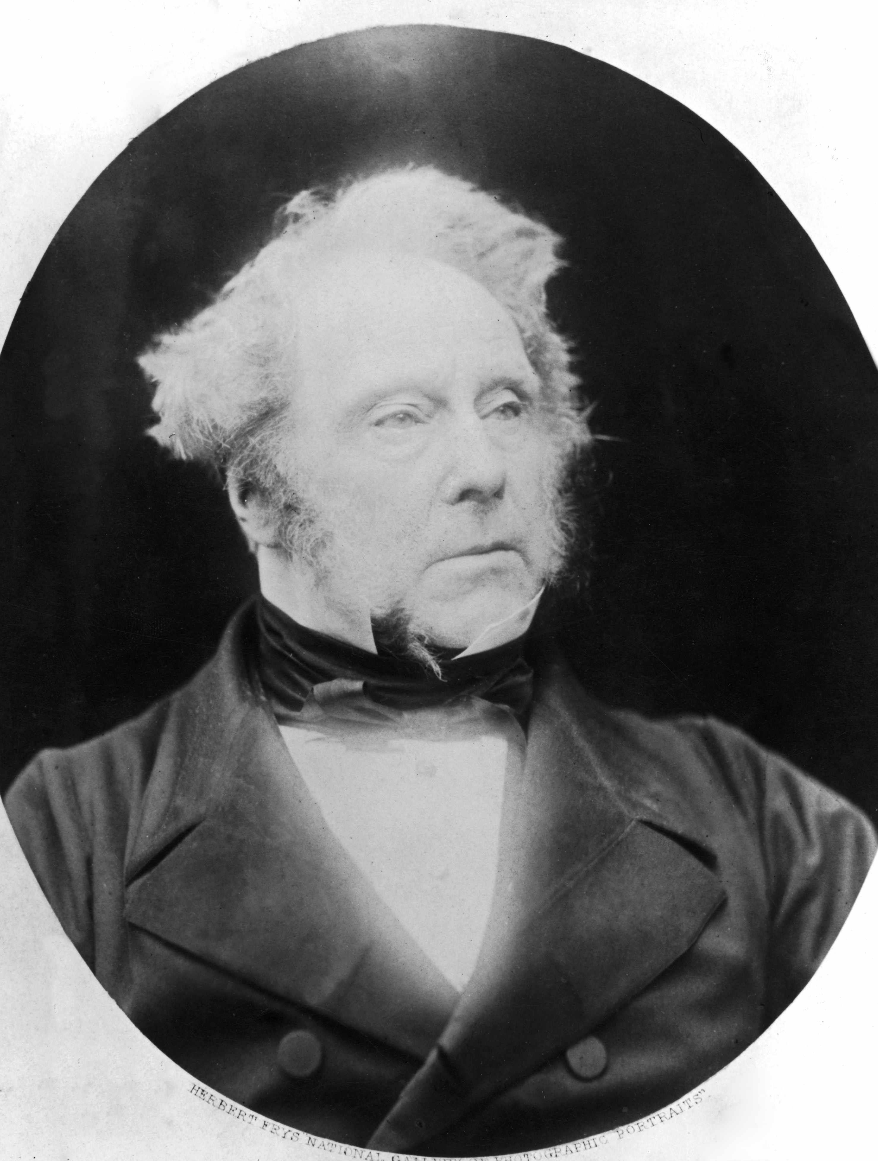 Henry John Temple, 3rd Viscount Palmerston (1784 - 1865), the British Liberal statesman who served almost continually as Prime Minister between 1855 and 1865, pictured circa 1860. (Photo by Herbert Fry/Hulton Archive/Getty Images)
