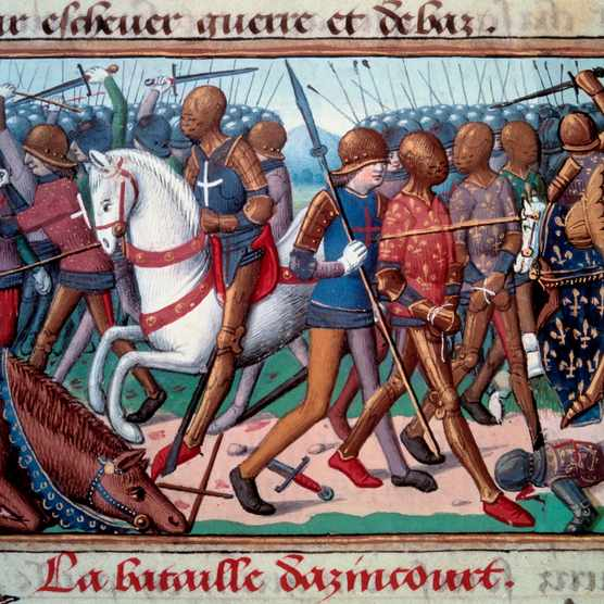 The Battle of Agincourt, 1415