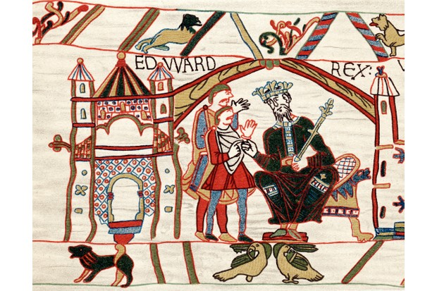 Edward The Confessor, Anglo-Saxon king of England, 1070s.
