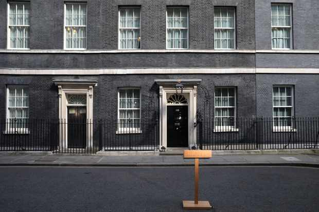 A general view of 10 Downing Street, the residence of the British prime minister currently in office, in London, United Kingdom. (Photo by Dan Kitwood/Getty Images)