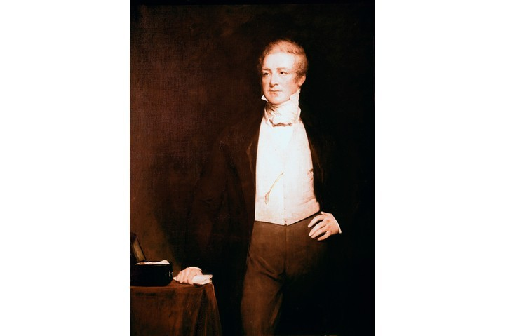 A portrait of Sir Robert Peel by by English painter Henry William Pickersgill. (Photo by: Leemage/UIG via Getty Images)