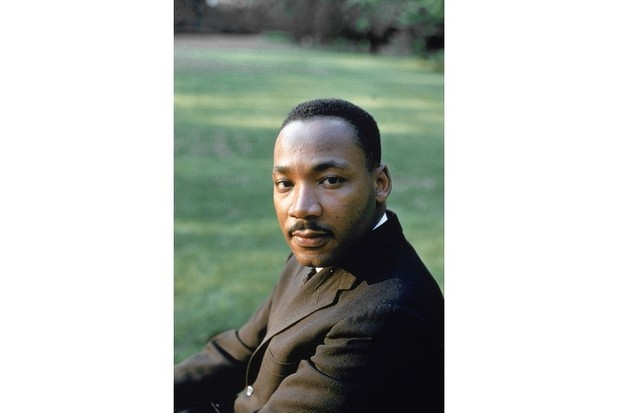 Civil rights leader Martin Luther King