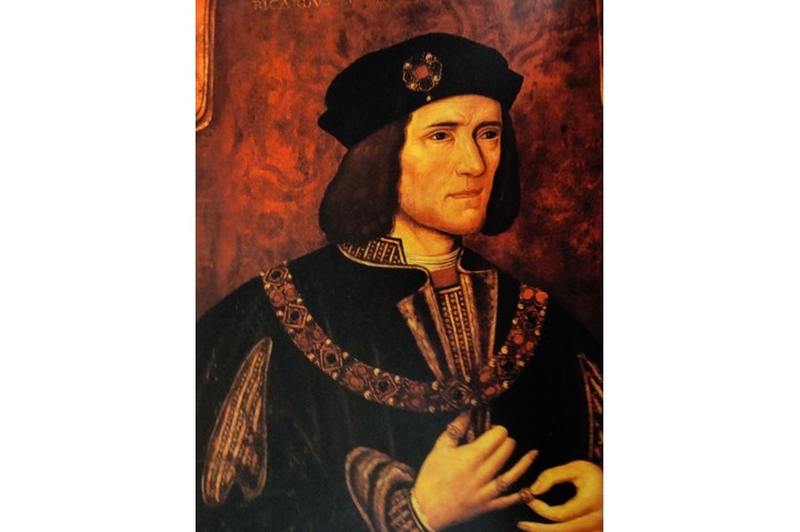 Portrait of Richard III, dated 15th century. (Photo by Universal History Archive/UIG via Getty Images)