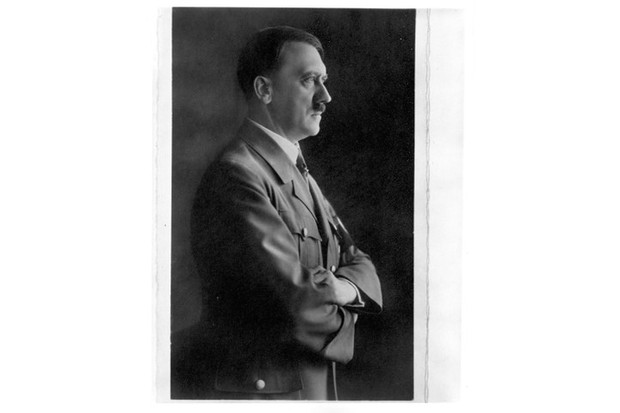 A portrait of Nazi leader Adolf Hitler