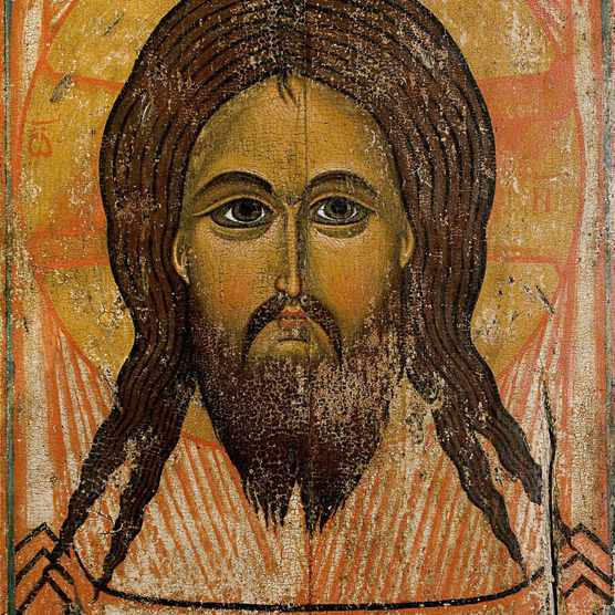 The Holy Face by Andrei Rublev. Tempera on wood, 14th century. Moscow, Russia. (Photo by VCG Wilson/Corbis via Getty Images)