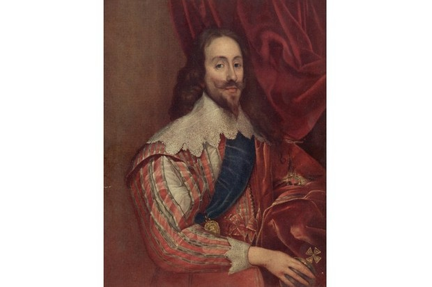 A portrait of King Charles I