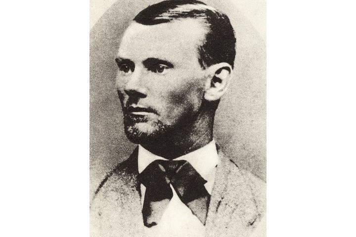 Jesse James is one of America's most notorious outlaw heroes. (Photo by Universal History Archive/Getty Images)