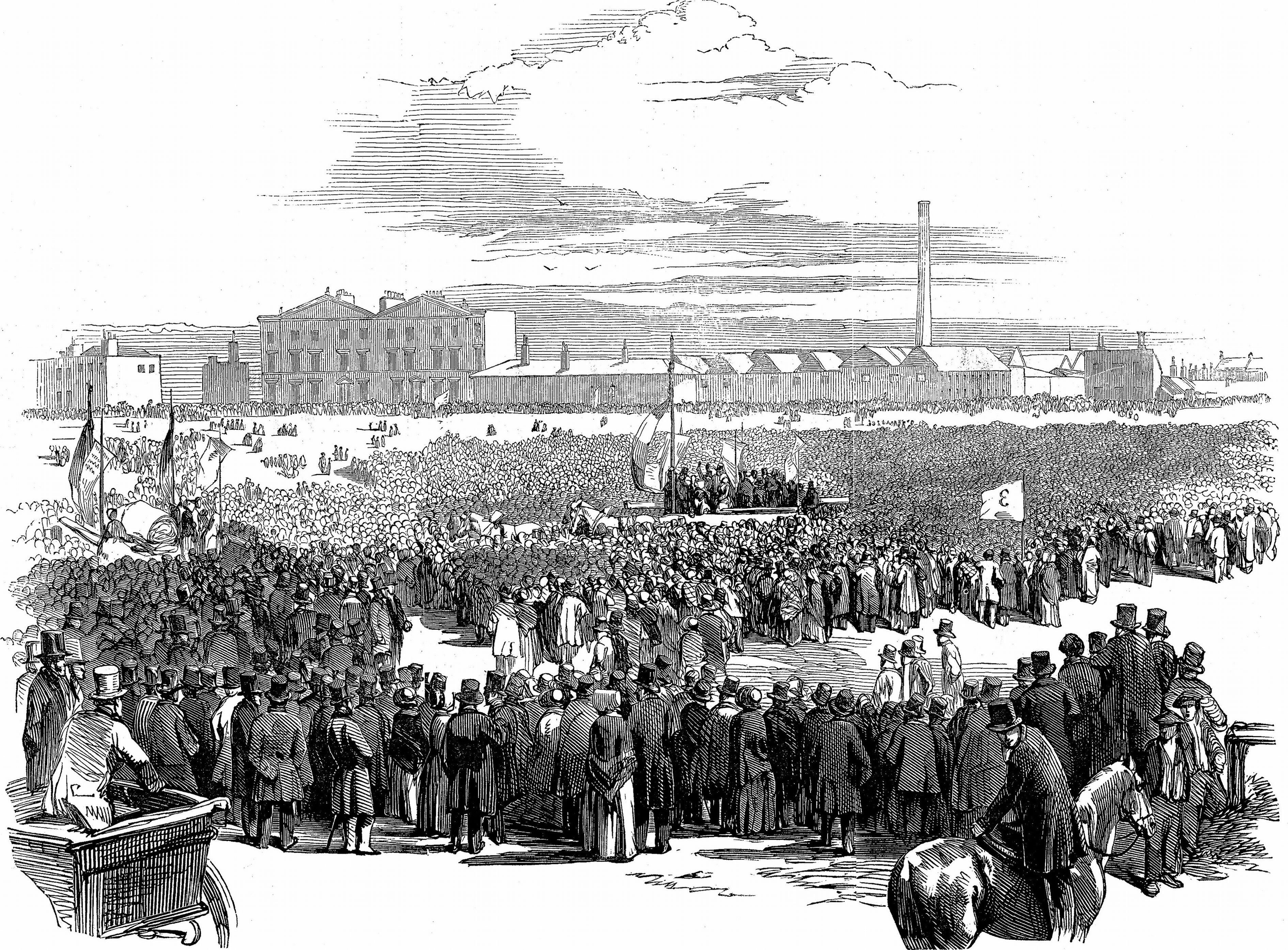 What was the Chartist movement's aims?