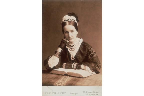 English philanthropist Angela Burdett-Coutts. (Photo by Hulton-Deutsch/Hulton-Deutsch Collection/Corbis via Getty Images)