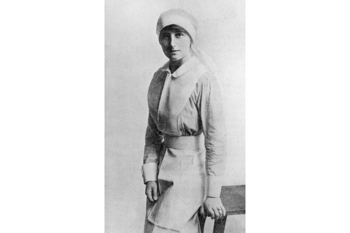 Vera Brittain, who worked as a nurse during the First World War and went on to become one of the leading writers of the interwar years. (Photo by Hulton Archive/Getty Images)