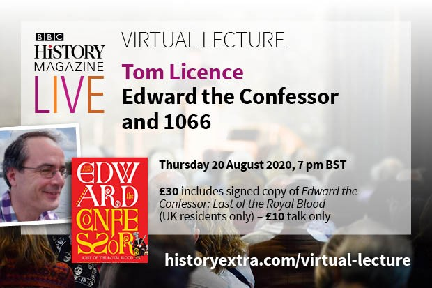 Virtual Lecture Tom Licence on Edward the Confessor
