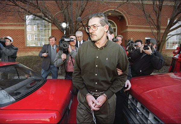 Aldrich Ames, a CIA agent turned Soviet spy, pictured at a federal courthouse in Virginia, in 1994