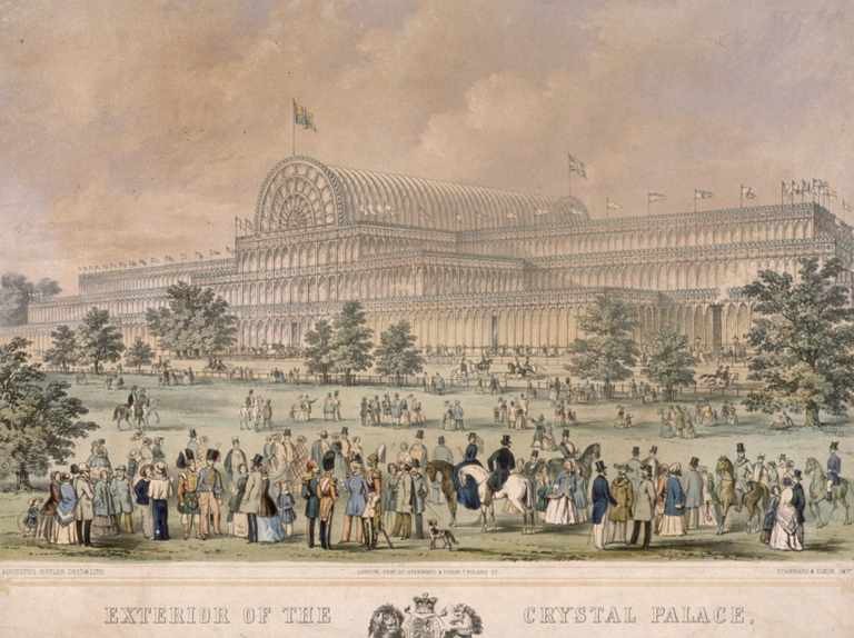 The Crystal Palace was constructed of iron and glass – so how and why did it burn down?