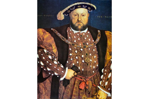 Portrait of Henry VIII. By the 1530s, Henry's fear of Yorkist plots had turned to mania. (Photo by Universal History Archive/UIG via Getty Images)