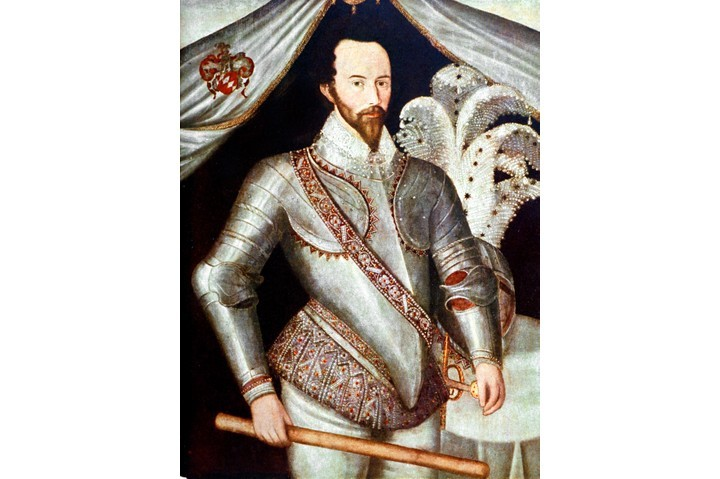 """Elizabethan adventurer, courtier, navigator and historian Sir Walter Ralegh – """"a gorgeous, larger than life figure"""". Unfortunately, many of his peers weren't impressed by his good looks, and saw instead an arrogant man, blind to his own weaknesses. (Time Life Pictures/Mansell/The LIFE Picture Collection/Getty Images)"""