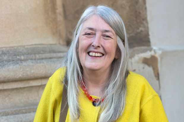 Mary Beard, professor of classics at the University of Cambridge. (David Levenson/Getty Images)
