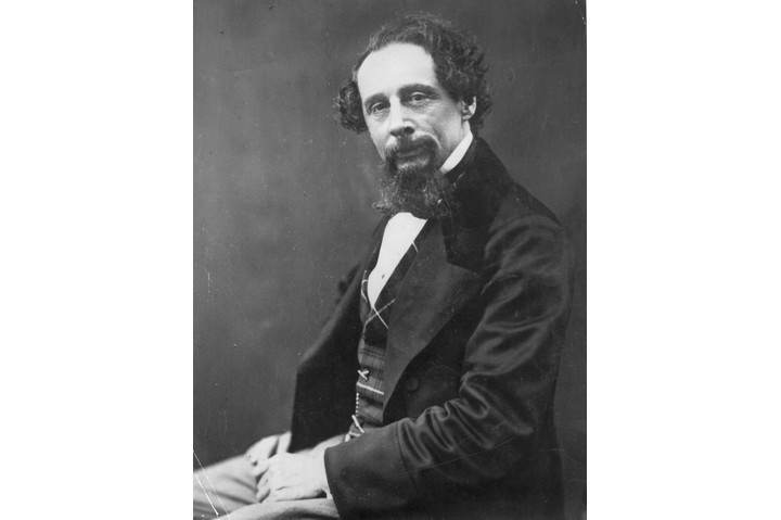 Sue Townsend admires Charles Dickens (pictured c1960) for his battles against social injustice. (Photo by London Stereoscopic Company/Getty Images)
