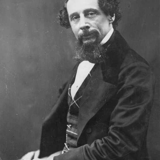 c1860: English novelist Charles Dickens (1812–1870). (Photo by London Stereoscopic Company/Getty Images)