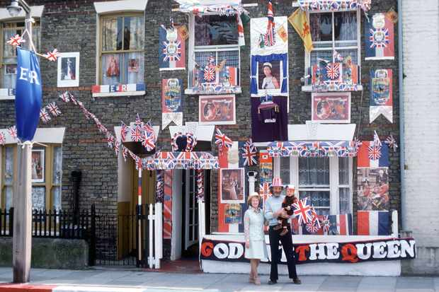 The Queen's silver jubilee took place in 1977. (Photo by Tim Graham/Getty Images)