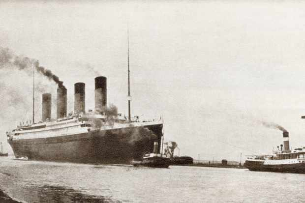 The RMS Titanic. (Image by Perspectives/Getty Images)