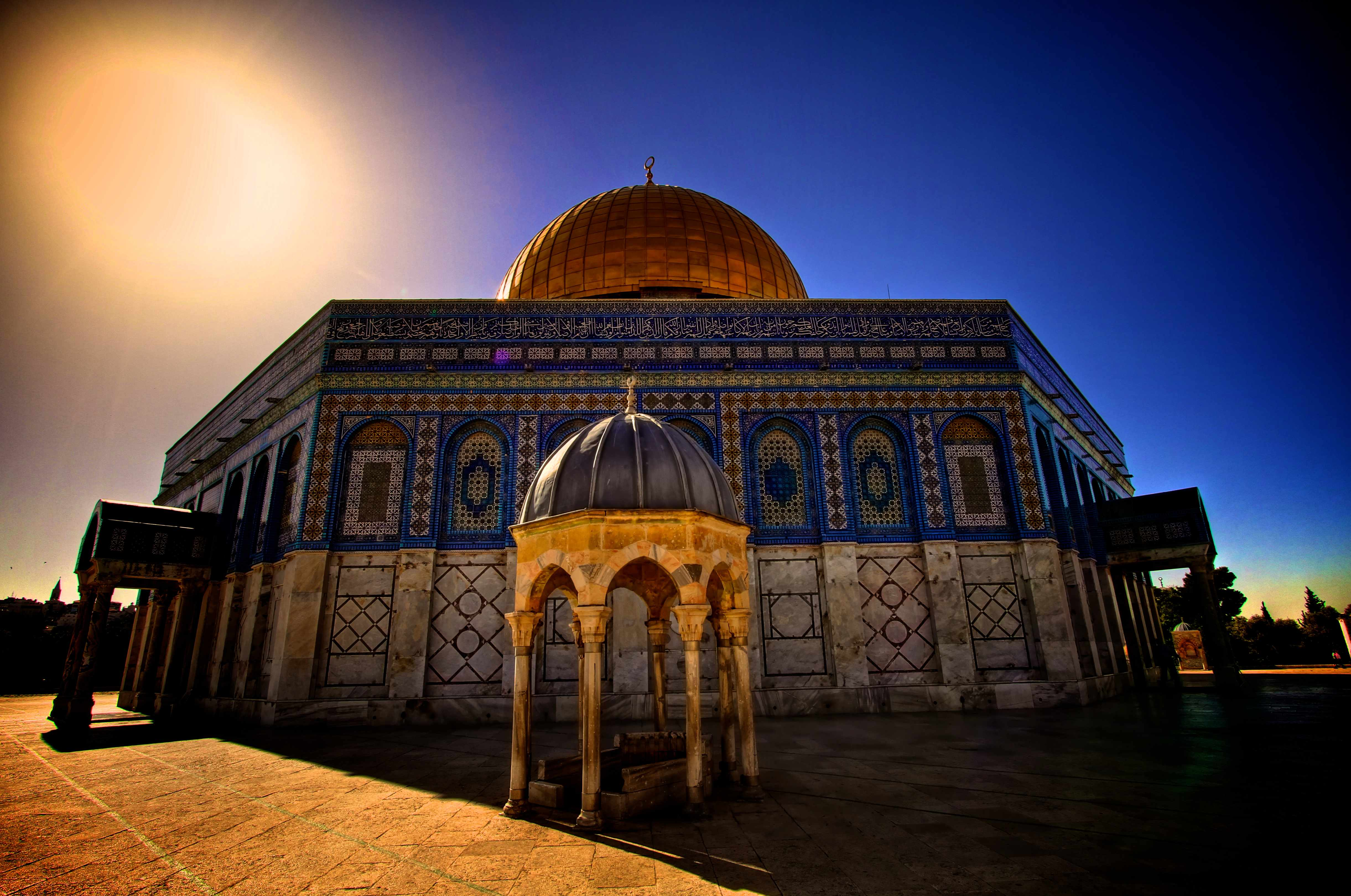 Jerusalem's magnificent Dome of the Rock was deliberately designed to put a Muslim stamp on what had previously been a Christian city. (Getty Images)