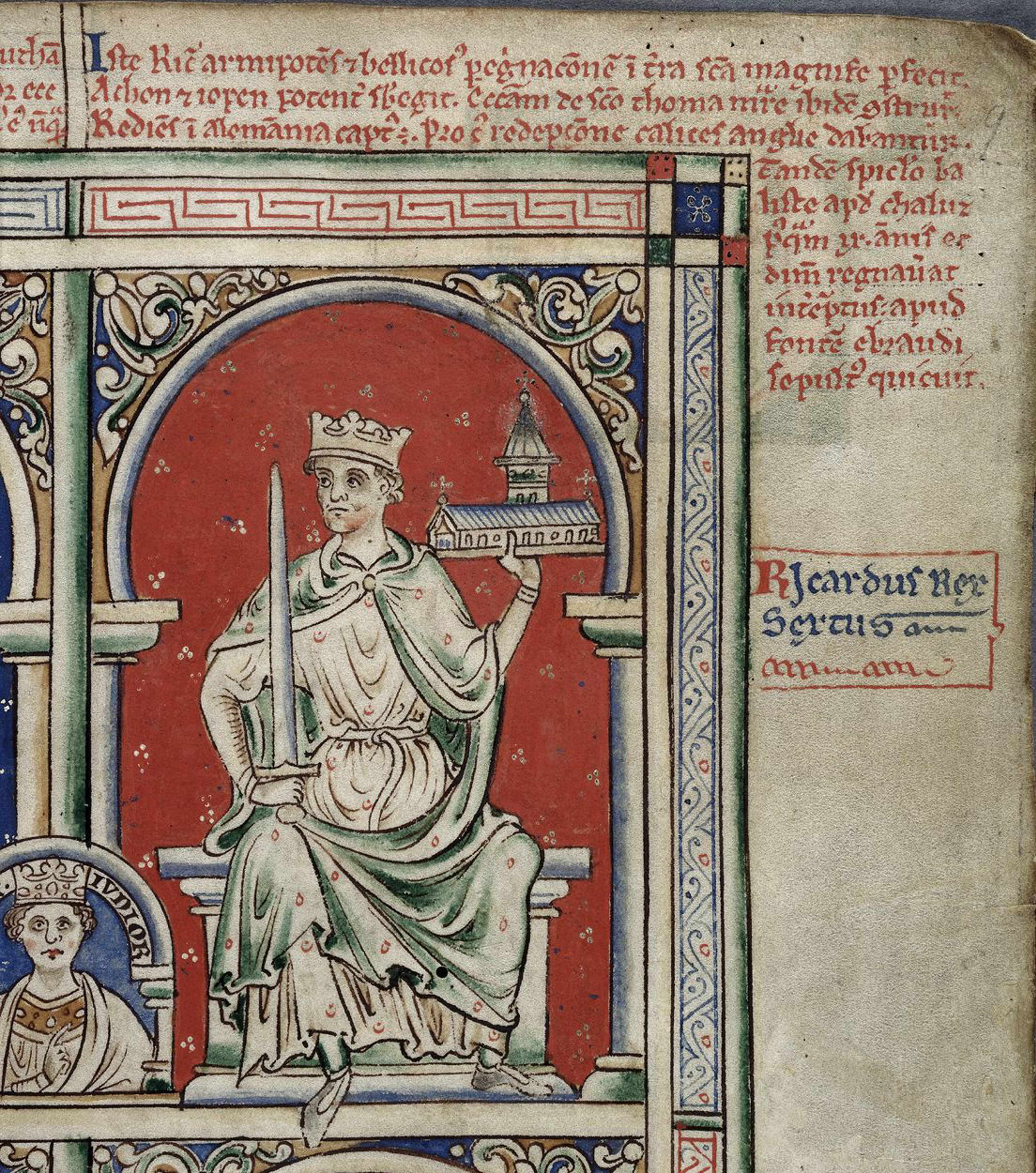 """Richard I (also known as Richard the Lionheart) frequently dated documents with the 'regnal year'. An example of this might be """"Winchester on the 23 day of April in the fifth year of our reign"""", which would translate to 23 April 1194. (Fine Art Images/Heritage Images/Getty Images)"""