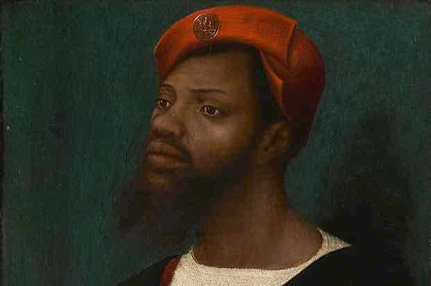 Portrait of an African man, c1530
