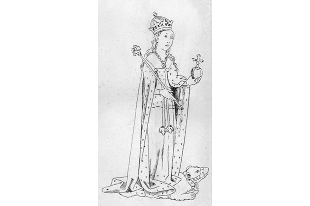 Anne Neville in 1473: rumours surrounded the cause of her death just two years into her marriage to Richard III. (Hulton Archive/Getty Images)