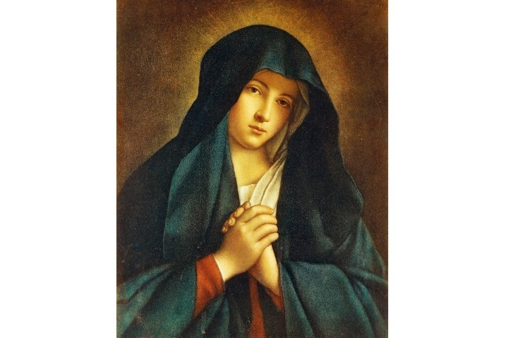 Our Lady of Sorrows, by unknown artist (20th century), photographic reproduction, 103x65 cm, inv 1602. Copyright Veneranda Biblioteca Ambrosian. (Getty Images)