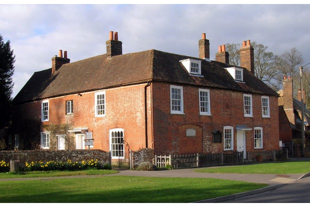 Chawton House, home of Jane Austen