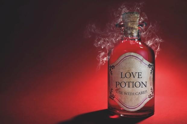 Bottle of 'love potion'
