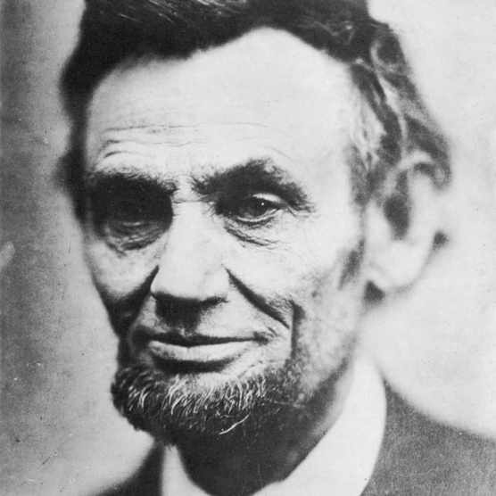Last photograph of Abraham Lincoln, (1809-1865), April 1865.